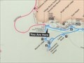 Image for Hermits Rest Route Transfer Bus Map - Grand Canyon National Park, AZ