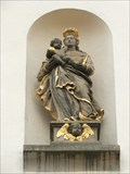 Image for Virgin Mary with infant Jesus at The church of St. Barbara, Hainfeld - RLP / Germany
