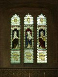 Image for St Mary Cleophas; Virgin & child; St Mary Magdalene East Window - St Mary's Church, Clifton Reynes, Buckinghamshire, UK