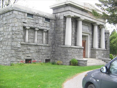 Bon Echo visited Chatham Mausoleum