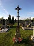 Image for Central Cross on Nabdín Cemetery, Czechia