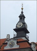 Image for Clocks on Jewish Town Hall / Hodiny na Židovské radnici (Prague)