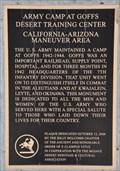 Image for Goffs Desert Training Center