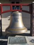 Image for Hayward fire fighter memorial bell - Hayward, CA