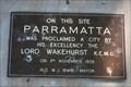 Image for Parramatta City Declaration site. NSW