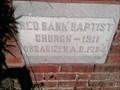 Image for 1911 - Red Bank Baptist Church - Saluda, SC