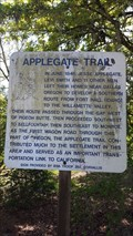 Image for Applegate Trail - Bellfountain, OR