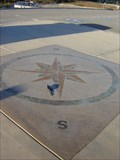 Image for Cabrillo College Compass Rose