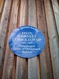 Image for Felix Thornley Cobbold - Christchurch Park - Ipswich, Suffolk