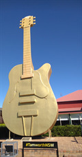Image for The Big Golden Guitar - Tamworth, NSW