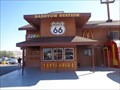 Image for Fake Train Station - Barstow, California, USA.