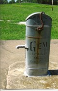 Image for Gem Galvanized Steel Chain Pump - St. John's United Church of Christ - near Pinckney, MO