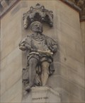 Image for Monarchs - King Henry VIII On Side Of City Hall - Bradford, UK