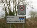 Image for Cambridgeshire County Boundary - UK
