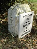 Image for Refurbished Morton Milestone on Old A15 Lay-by