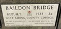 Image for Baildon Bridge - 1934 - Saltaire, UK