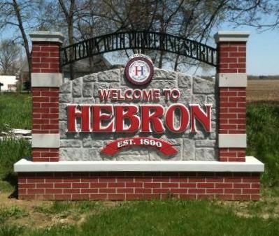 Hebron Indiana Map.Hebron Indiana Small Town Big Name On Waymarking Com