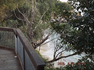 Nudist Beach near Watson Bay, Sydney