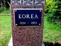 Image for Slocan Korean War Memorial Plaque - Slocan City, BC