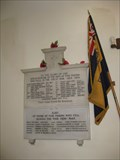 Image for Combined War Memorial - All Saints Church, Minstead, Hampshire, UK
