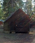 Image for Homesteader's Log Cabin, Barn and Smokehouse - Chiloquin, OR