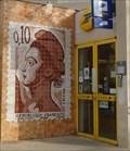 Image for Le timbre de 10 centimes - Poste de Cadenet, France