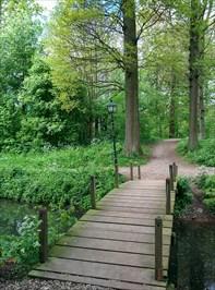 Bruggetje bij Kasteelpark Ruine - Wijk bij Duurstede