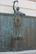 Image for Democracy -- WWI Memorial, DKR-Texas Memorial Stadium, University of Texas, Austin TX