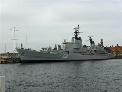 Hdms Peder Skram Nyholm Copenhagen Denmark Military Ships And