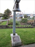 Image for USCGC Winona Memorial Bell - Port Angeles, WA