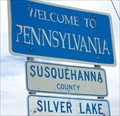 Image for Pennsylvania/New York in Quaker Lake RD - Silver Lake Township, Susquehanna County PA; Broome County, NY