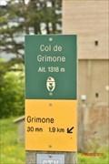 Image for 1318 m. Col de Grimone- Grimone- Rhône Alpes- France