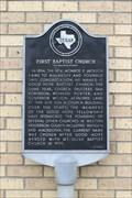 Image for First Baptist Church on Walker Street