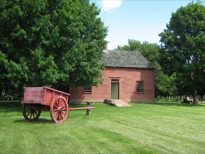 The best known of Vermont's founding fathers, Ethan Allen built this home in the rich farmland of Burlington's Intervale and lived here with his wife, Fanny, for the last two years of his life (1787-1789).