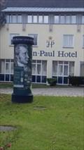 Image for 'Jean Paul Litfaßsäule' vor dem Jean-Paul-Hotel - Schwarzenbach an der Saale/BY/Germany