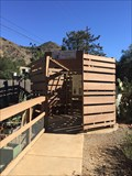 Image for Painted Wooden Enclosure - Modjeska, CA