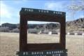 Image for Fort Davis Officer's Quarters -- Fort Davis NHS, Fort Davis TX