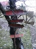 "Image for Funny Signpost ""na Americe"" - Usti nad Orlici, Czech Republic"