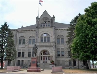 Carroll County Courthouse, Carrollton, Missouri