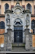 Image for Northern portal of Church of the Nativity of the Virgin Mary / Severní portál kostela Narození Panny Marie  - Roudnice nad Labem (North Bohemia)