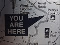 Image for Perrys Lookdown Walking Track - You are Here - NSW, Australia