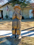 Image for Carved oak bear -- Plano, TX