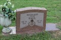 """Image for Fisherman -- Reginald """"Cotton"""" Hall, High Cemetery, Wallace TX"""