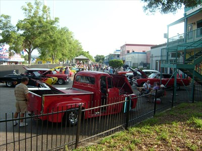 Saturday Night Cruise, Old Town, Kissimmee, Florida.