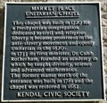 Image for Unitarian Chapel, Market Place, Kendal, Cumbria, UK