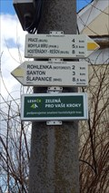 Image for Direction and Distance Arrow - Jiríkovice, Czech Republic