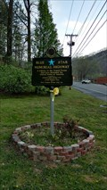 Image for Blue Star Memorial Highway WV 10 ~ Oceana, West Virginia.