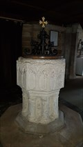 Image for Norman font - St Guthlac - Branston, Leicestershire