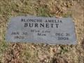 Image for Blonche Amelia Burnett - 100 -  Spencer, OK