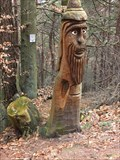 Image for Wood Face with beart in the Palatinate Forest - RLP / Germany